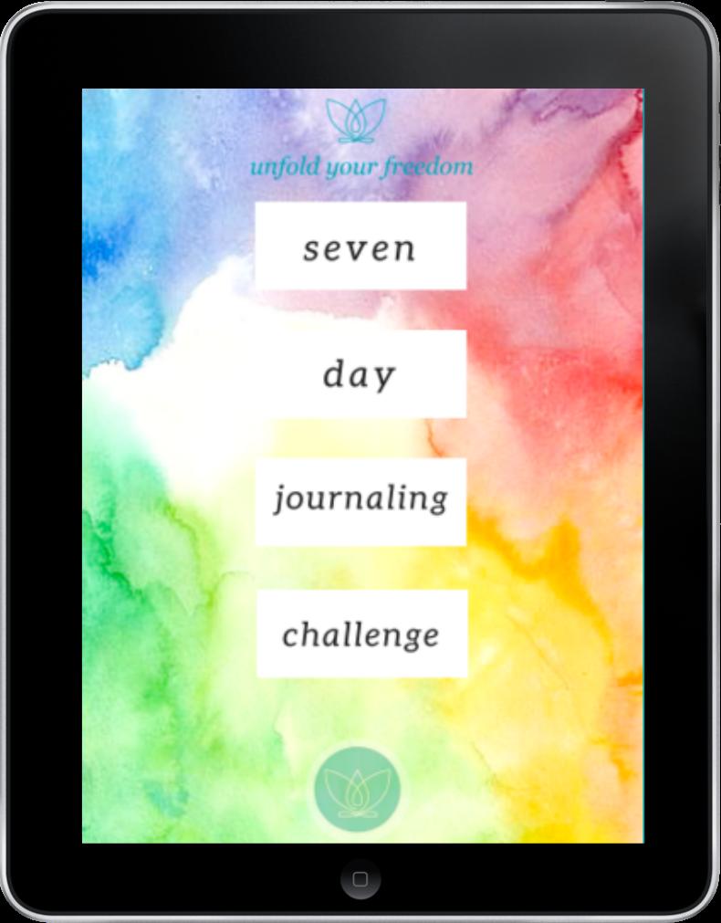 Seven Day Journaling e-book