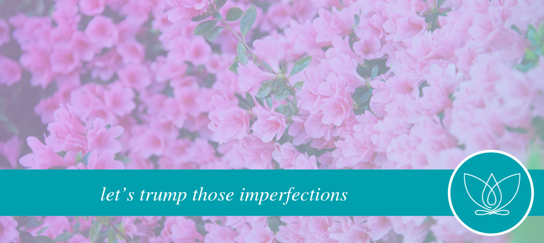 let's trump those imperfections