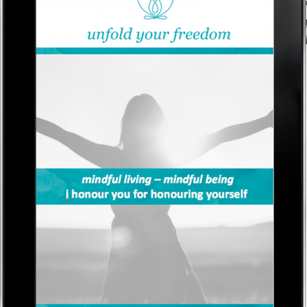 mindful living – mindful being ipad image