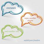excuses meditation