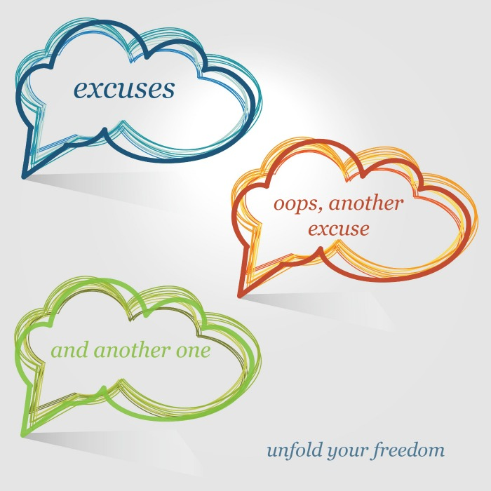 looking at your excuses guided meditation