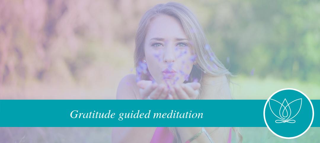 gratitude guided meditation