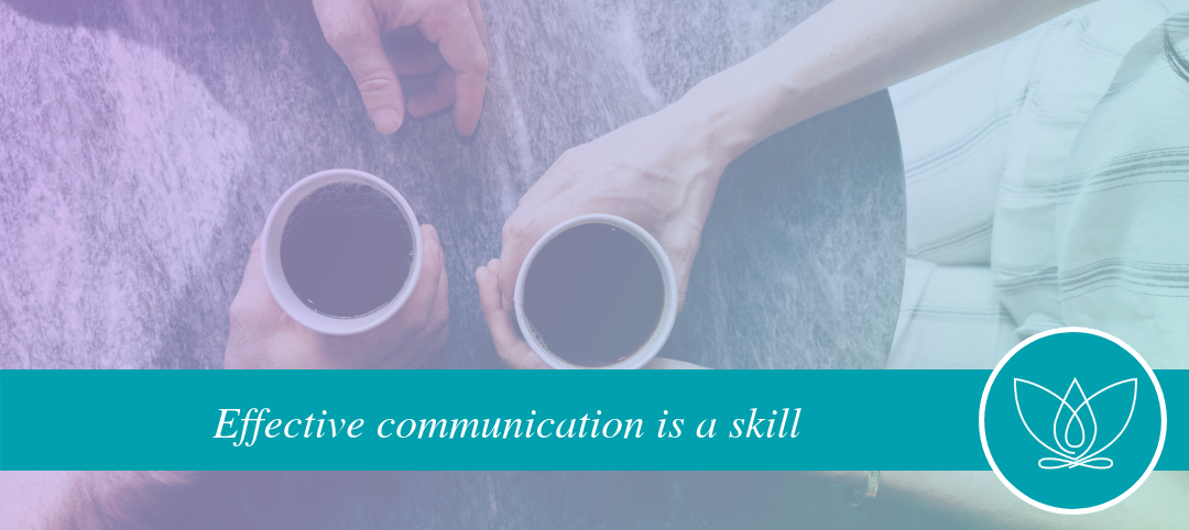 Effective communication leads to confidence