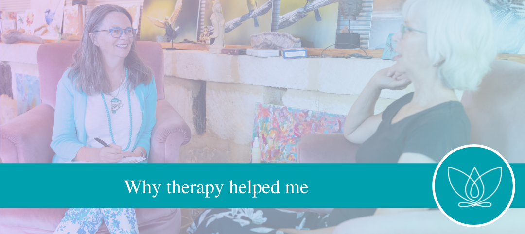 Why therapy helped me