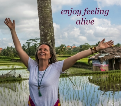 Enjoy Feeling Alive – my first ever business name