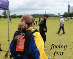 a different way to overcome fear