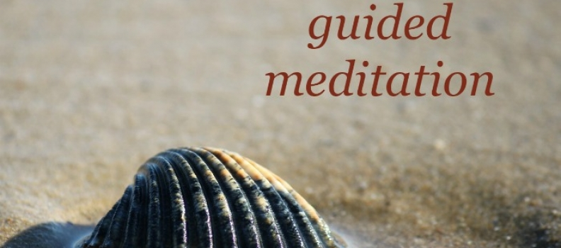 Just a thought guided meditation
