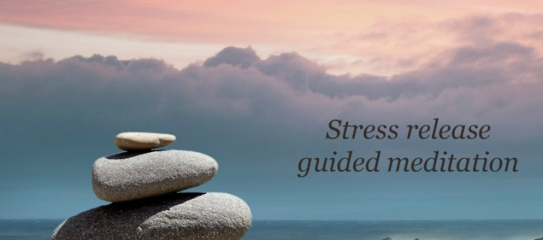 Stress release guided meditation